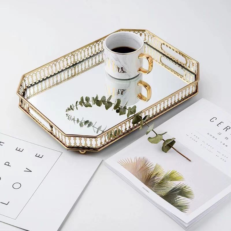 Metal Mirror Tray 0303