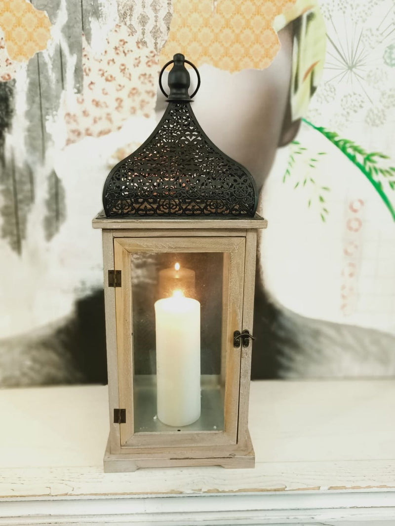 Wooden Candle Holder 0207