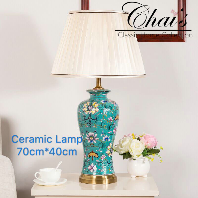 Porcelain Lamp 0207