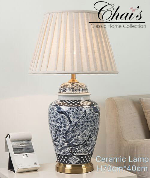 Porcelain Lamp 0212