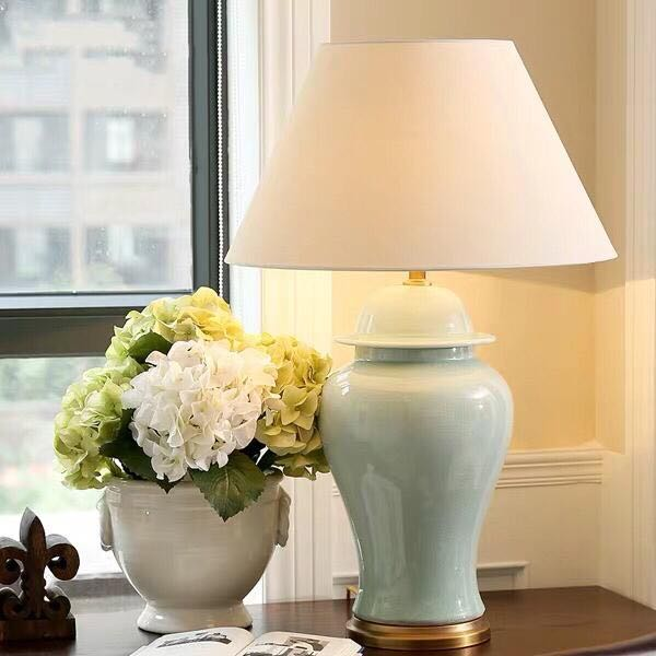 Porcelain Lamp 0219