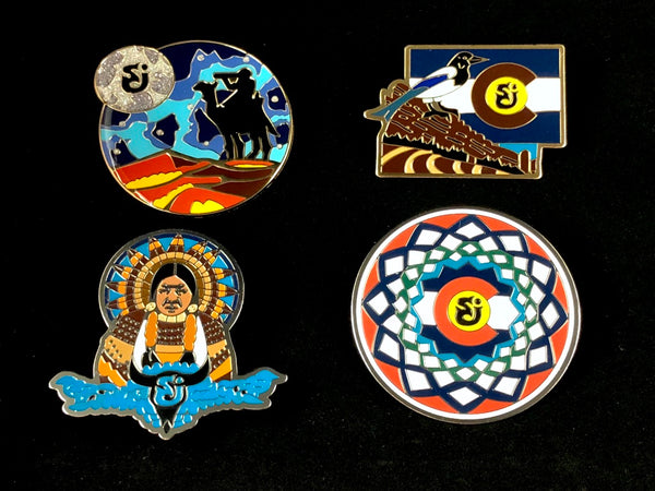 Offical SCI Red Rocks Limited Edition Pin Set