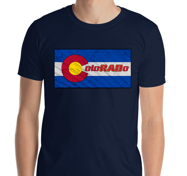 Batik Inspired ColoRADo Printed Short Sleeve