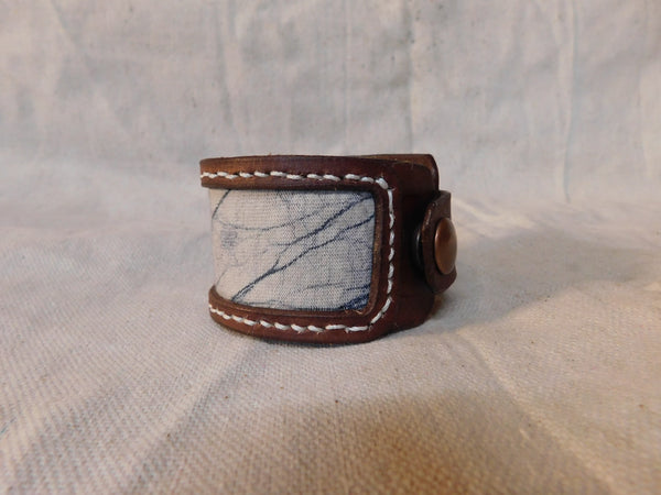 Winter Haze Cuff with Snap Closures