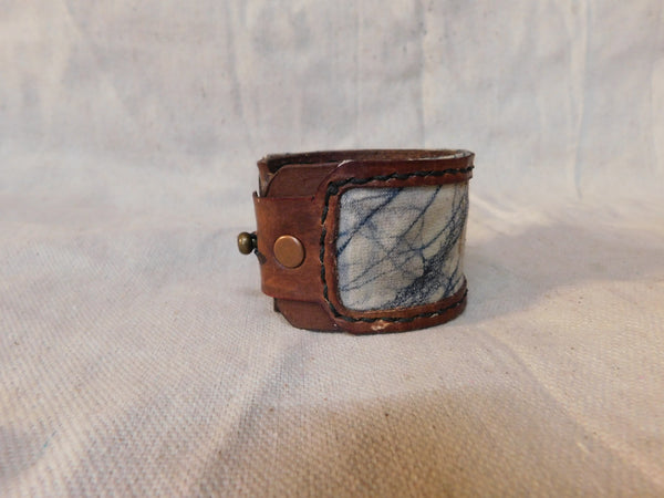 Winter Haze Cuff with Stud Closure