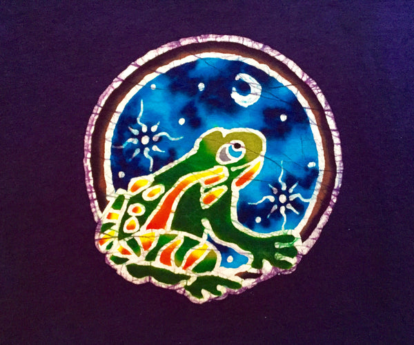 Froggie In The Moonlight -- Kid's Design