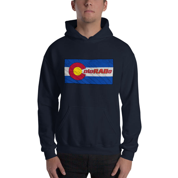 Batik Inspired ColoRADo Printed Hoodie