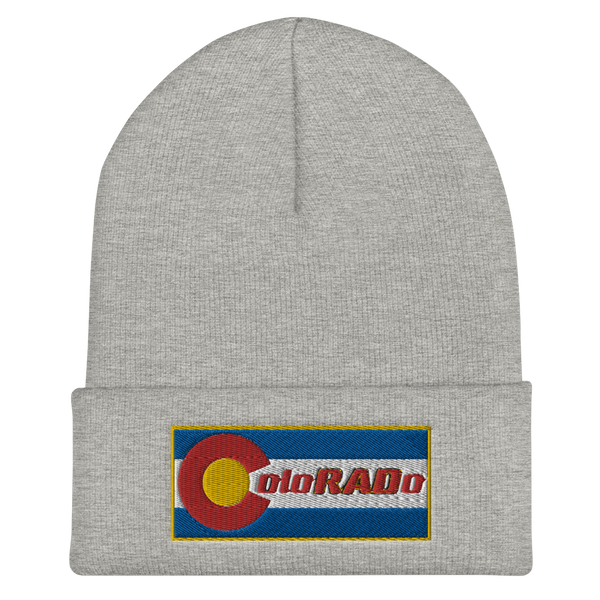 ColoRADo Beanie Embroidered Hat