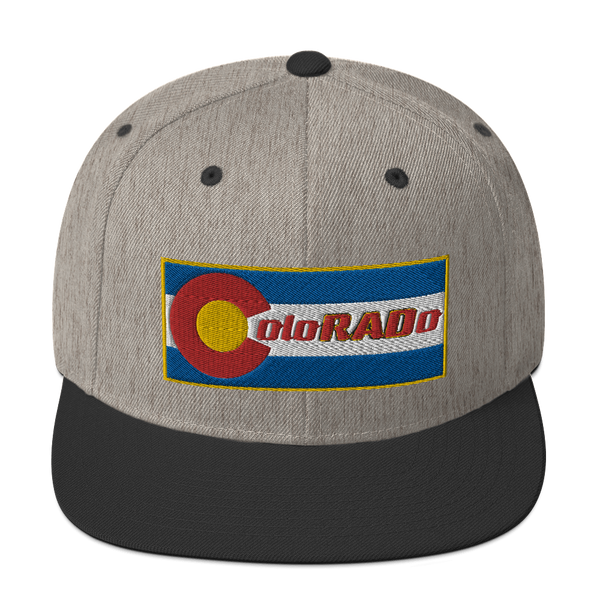 ColoRADo Snapback Emroidered Hat