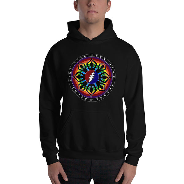 Born Cross Eyed Printed Hoodie