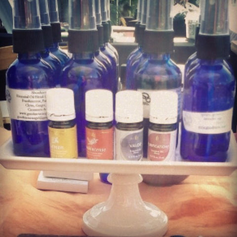 Body Sprays proprietary blends made by Healing Queen