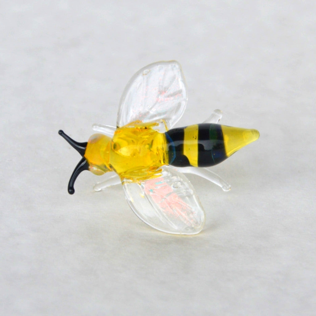 Bumble bee crafted in glass
