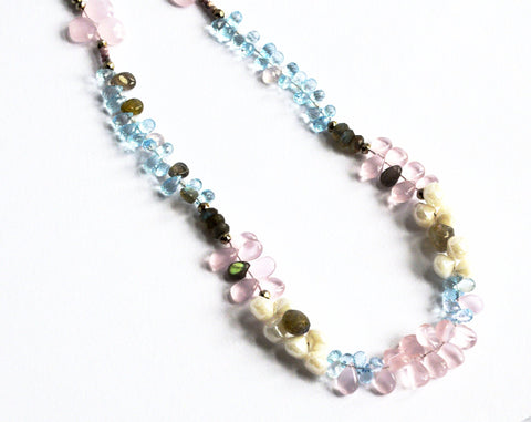 Fairy Glow Kunzite Necklace