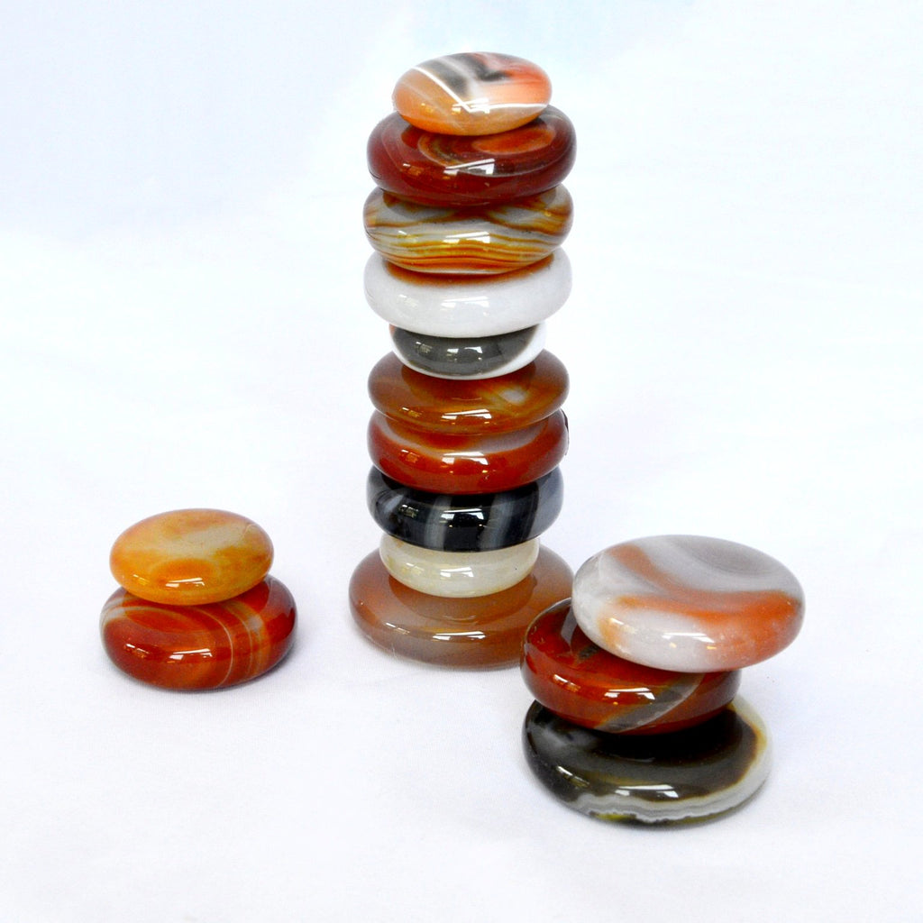 Enjoy our stacking stone in a group or use simply singular.