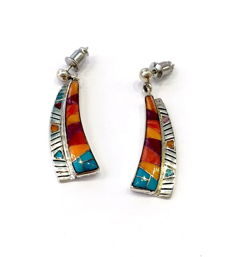 Summer's Gift Inlay Earrings