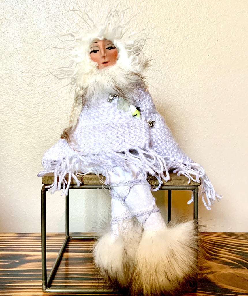 White Buffalo Ninita Guardian Doll