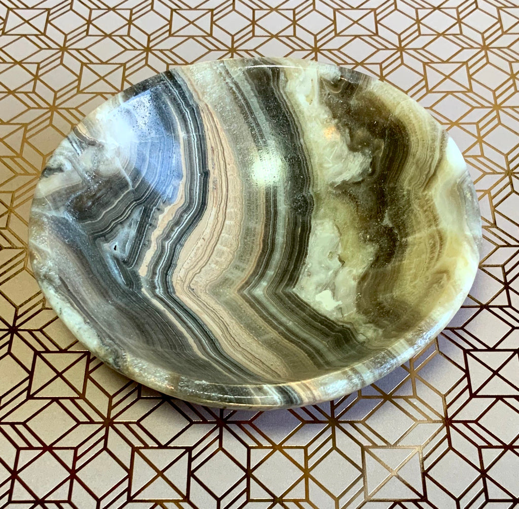 Earthly Secrets Onyx Bowl