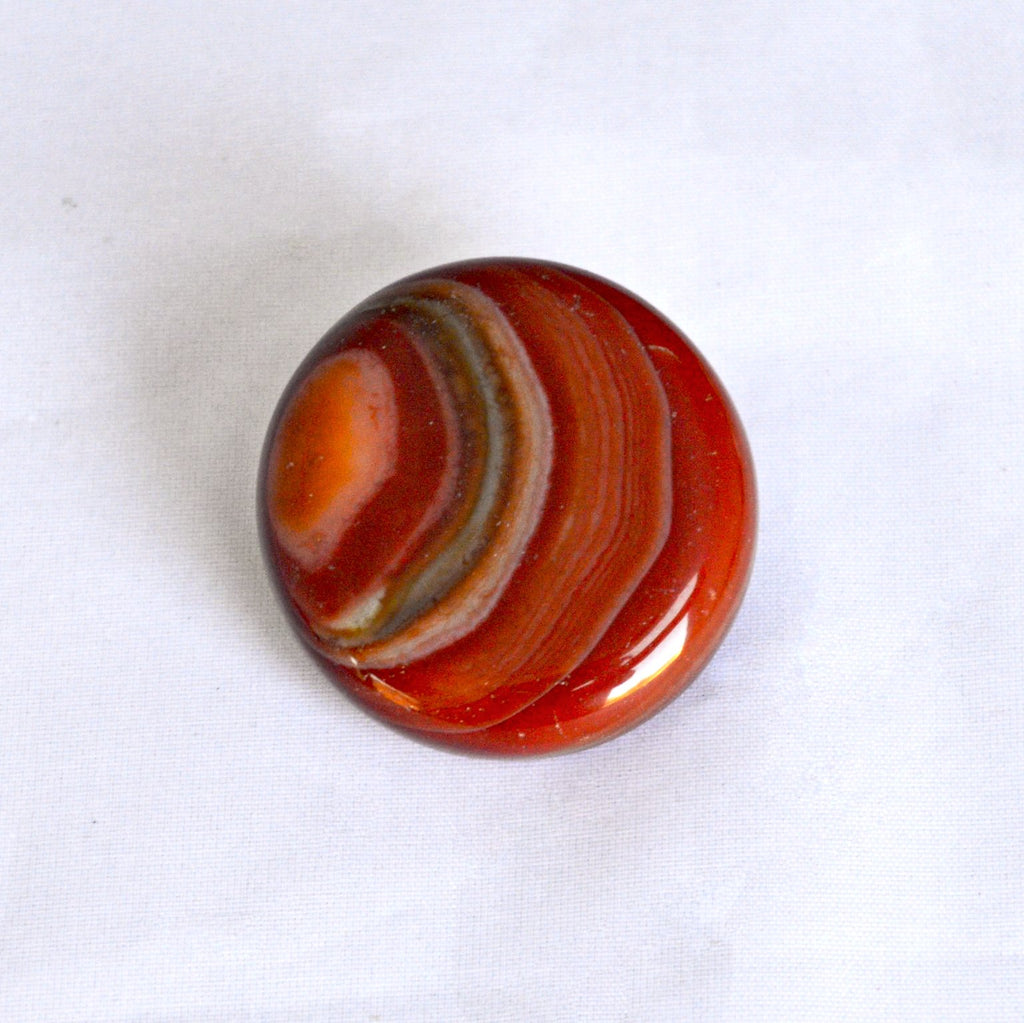 Sunset Carnelian Stacking Stone