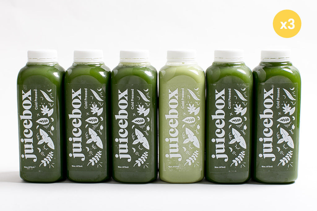 3-day all green cleanse