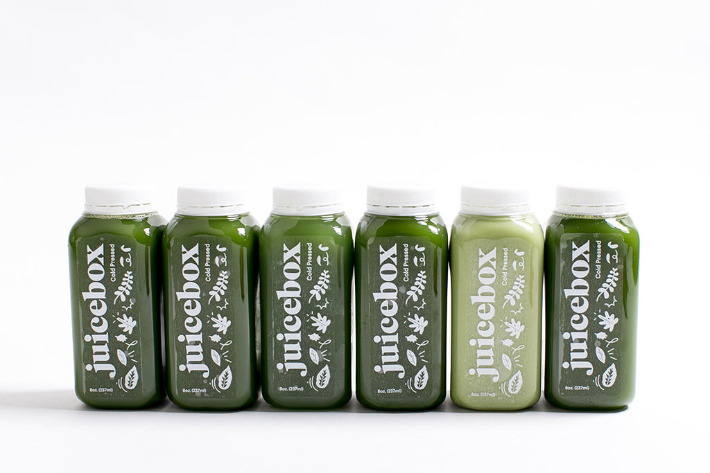 1-day all green cleanse *juice until dinner*