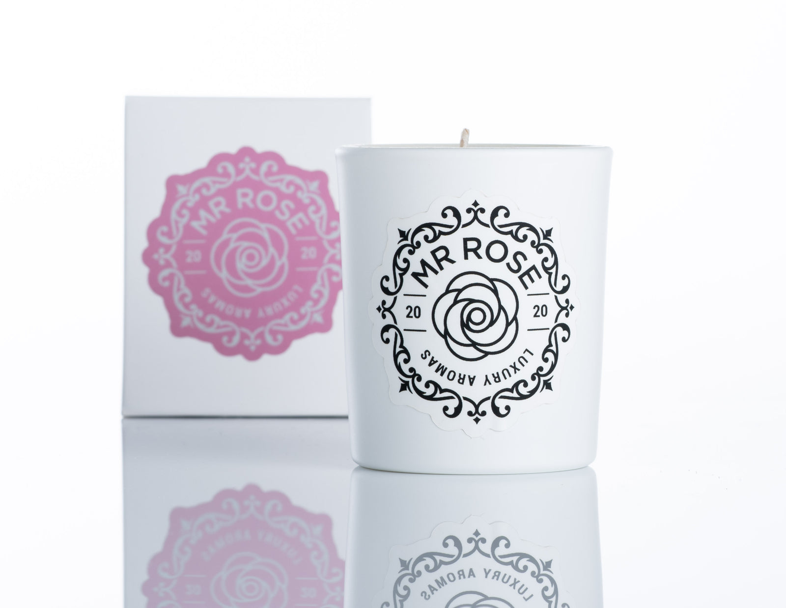 Mr Rose - Peony Blush Candle Mini/Travel