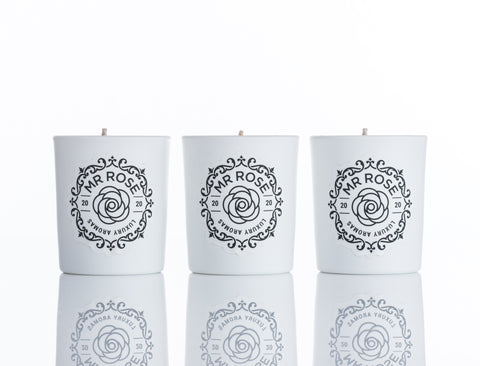 Mr Rose - Floral Collection Candle Trio