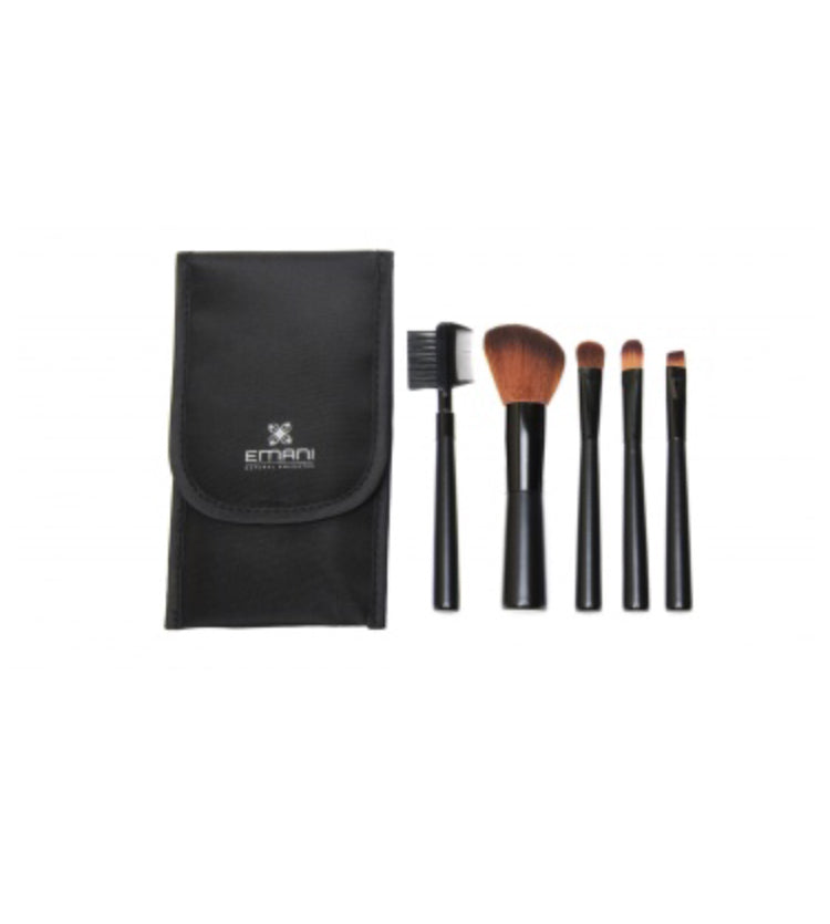 Vegan Travel Brush Set