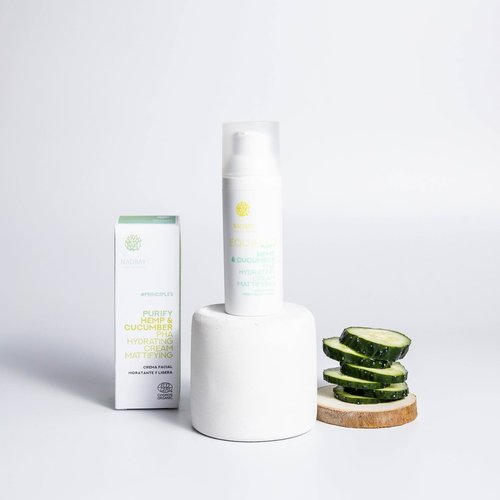 Purify - Hemp & Cucumber PHA Hydrating Cream Mattifying