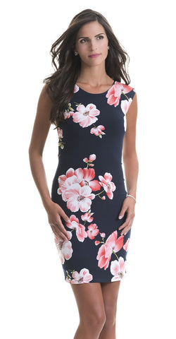 Abigail Pink Flower Dress