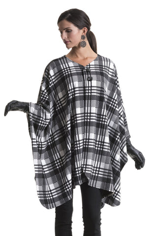 Catherine Classic Plaid Cape