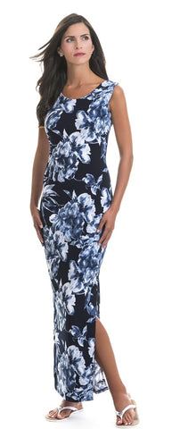 Dana Blue Flower Maxi