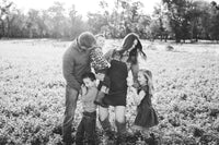 Jessica and her husband Parker and raising their three children, twins Dalton + Leighton and baby of the fam William, in small town Oklahoma.