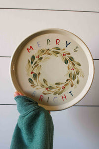 Holiday Cookie Plate Collaboration with Lindsey La Valle