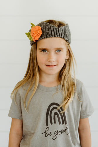 Kids Rainbow Be Good Tee