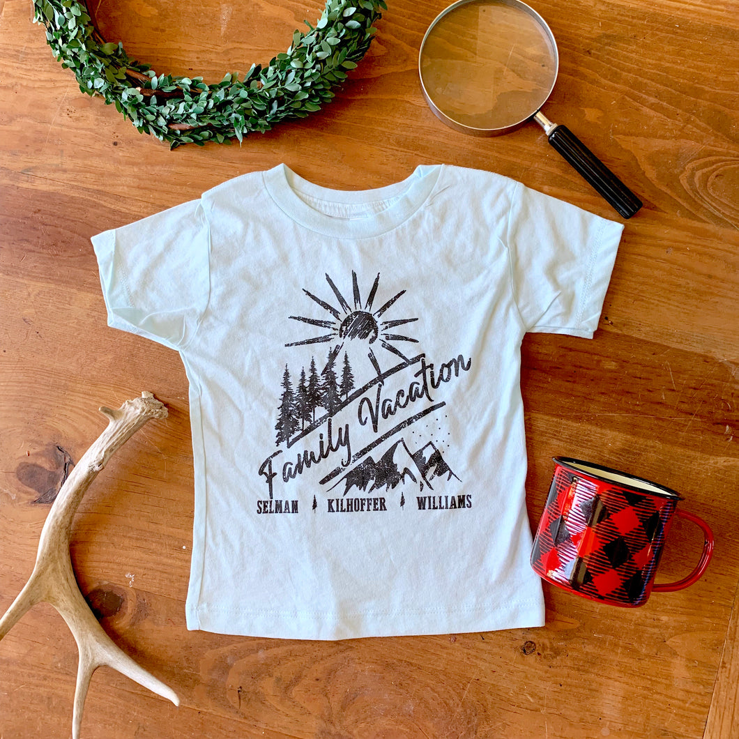 Custom: Family Vacation Tees