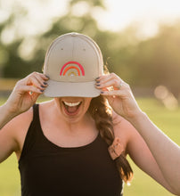 Load image into Gallery viewer, Rainbow Trucker Hat