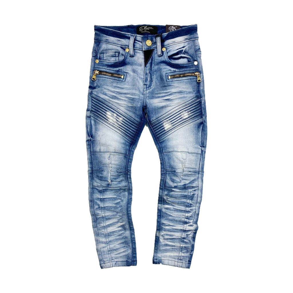 Blue Cepheus Kids Jeans - Elite Premium Denim