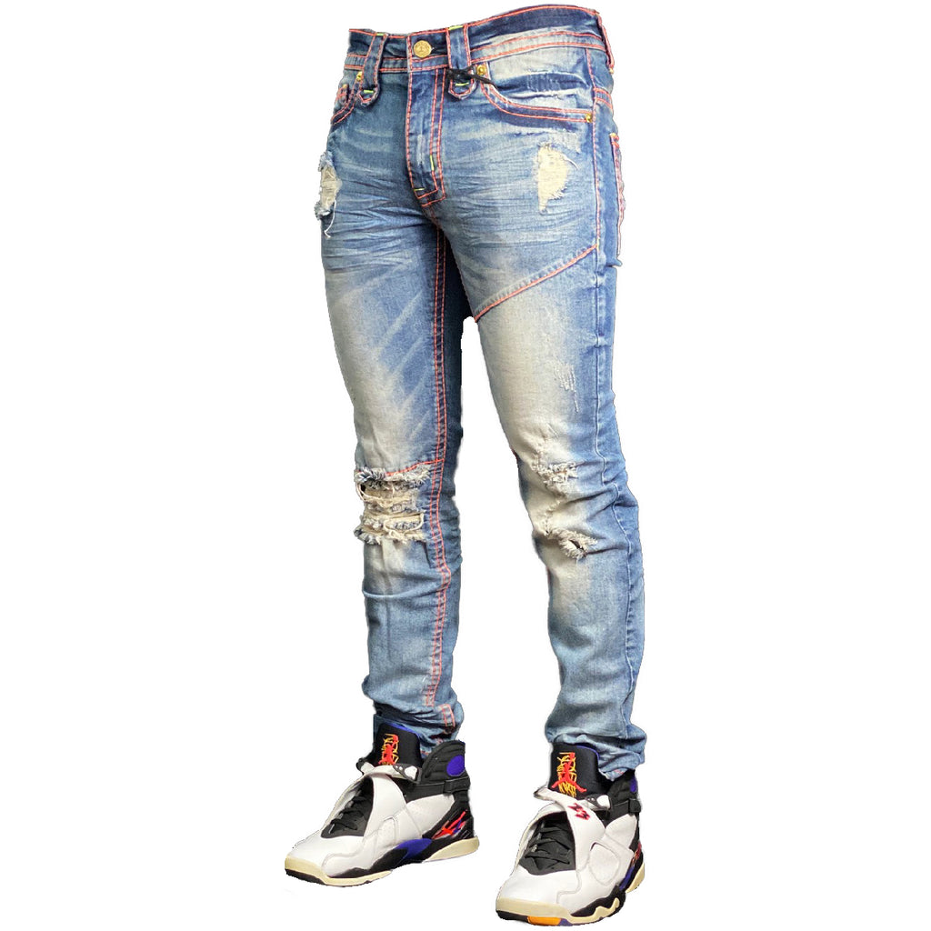 Solar Eclipse Jeans - Elite Premium Denim