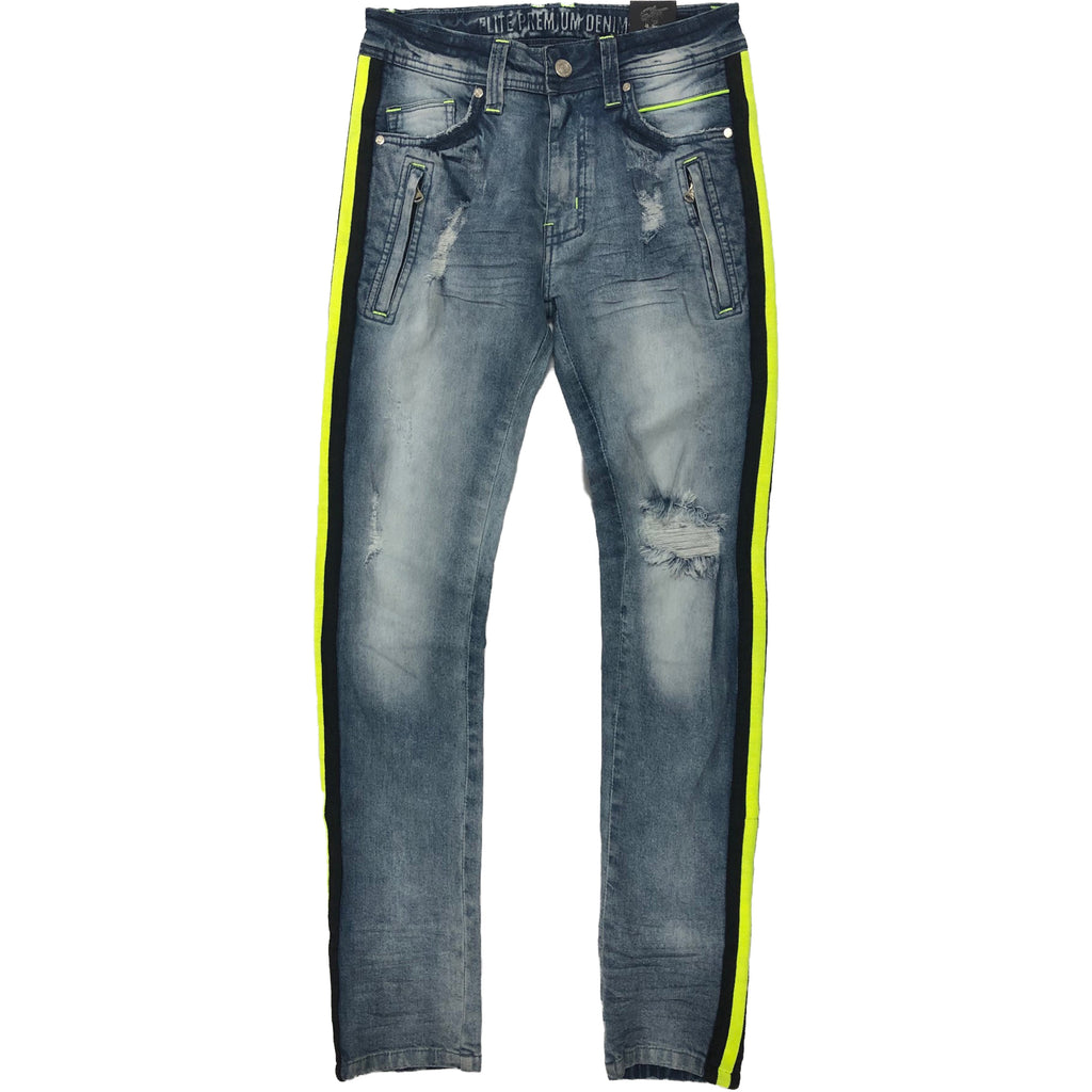 Lime Light Jeans - Elite Premium Denim