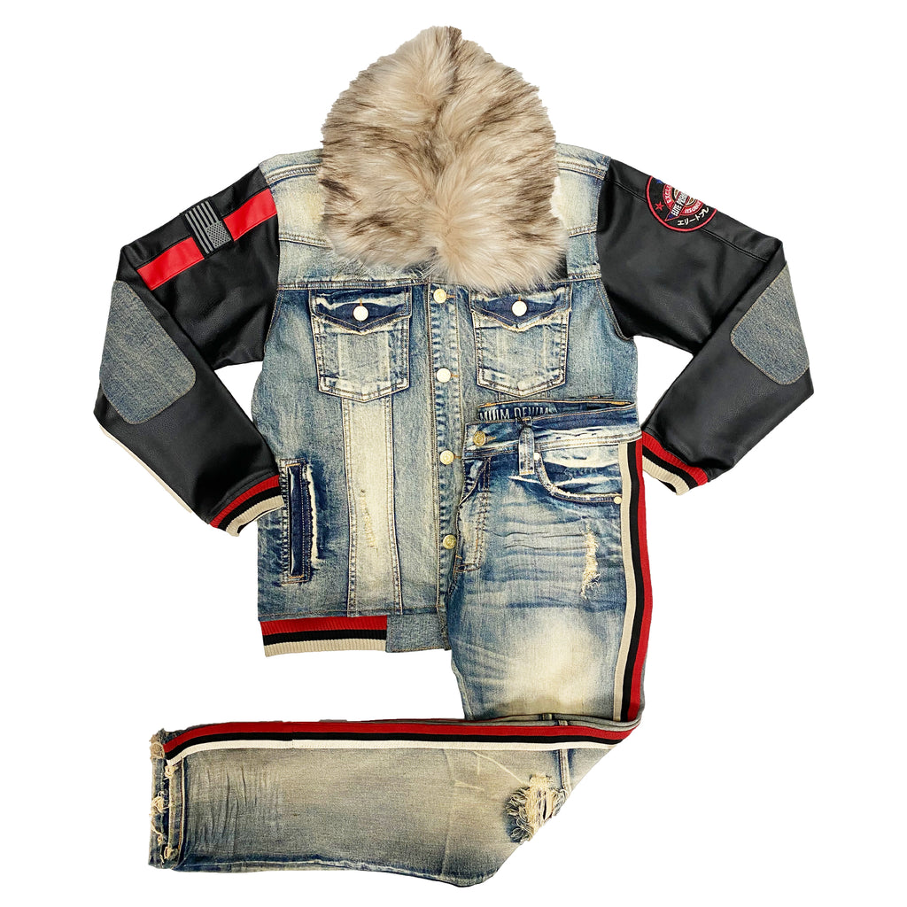MotorSport Denim Set