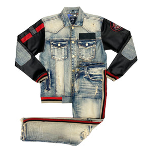 MotorSport Denim Set - Elite Premium Denim
