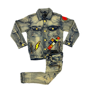 Tornado Kids Denim Set - Elite Premium Denim