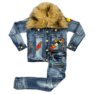 Tsunami Kids Denim Jacket Set - Elite Premium Denim