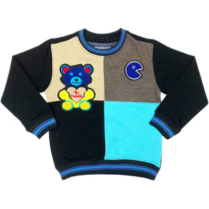 Lil Bear II Kids Sweatshirt - Elite Premium Denim