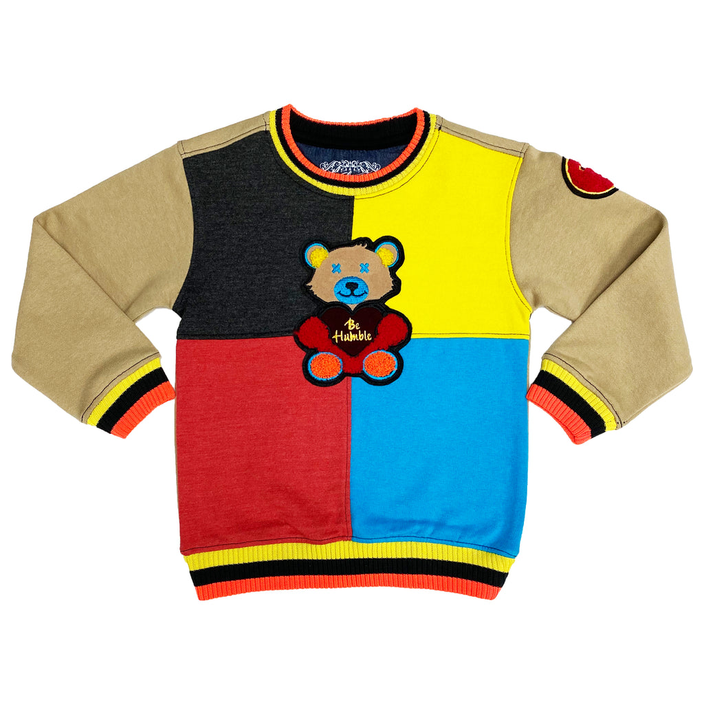 Popcorn II Kids Sweatshirt - Elite Premium Denim