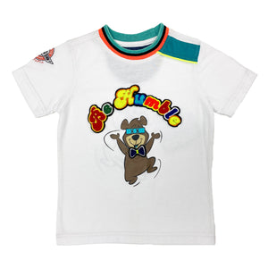 Humble Bear Kids Tee White OBK - Elite Premium Denim