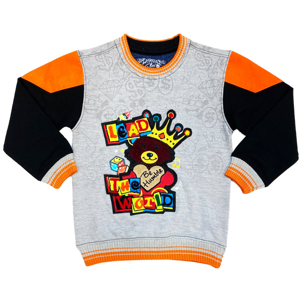 Orange Fin Kids Premium Sweatshirt - Elite Premium Denim