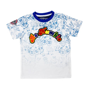 Atlantis Kids Premium Patch Tee - Elite Premium Denim