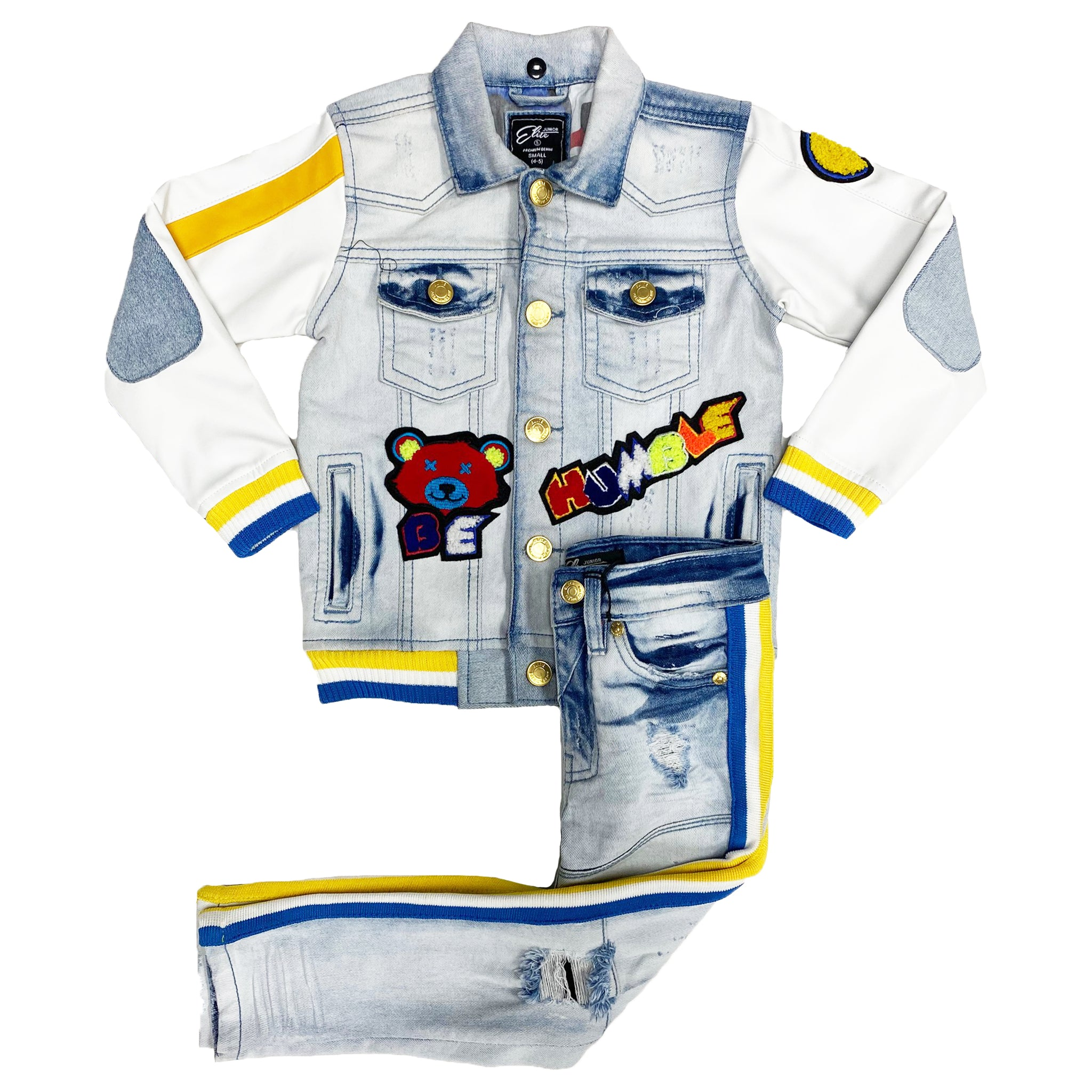 Kids Savage Denim Set - Elite Premium Denim