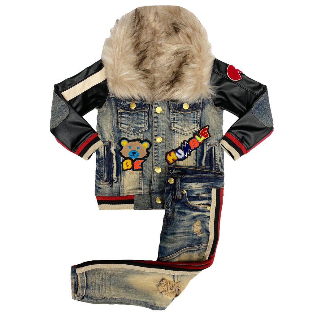 Kids MotorSport Denim Set - Elite Premium Denim